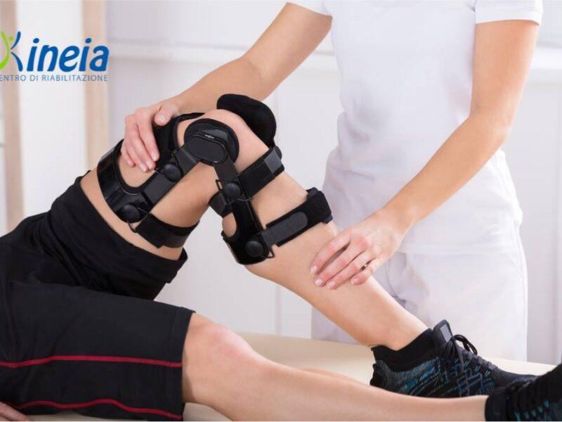 Rivolgiti a Kineia per intraprendere un percorso di riabilitazione ortopedica in caso di infortunio, trauma muscolare o articolare.